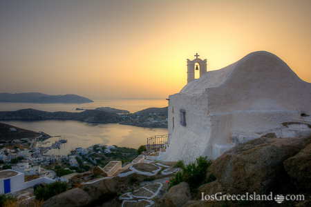Chapel in Ios Greece