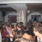 Scandinavian crowd at Blue Note in Ios Greece